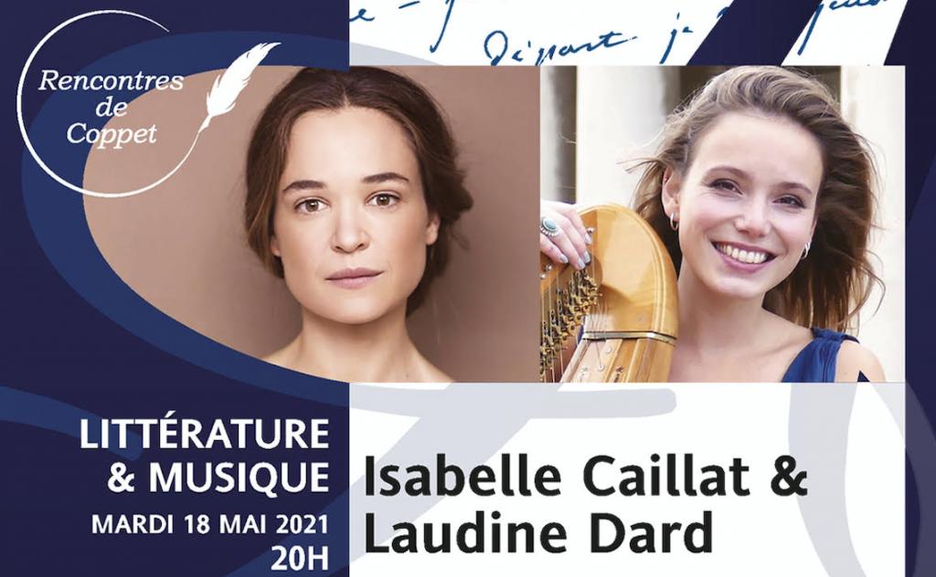 Isabelle Caillat et Laudine Dard Rencontres de Coppet